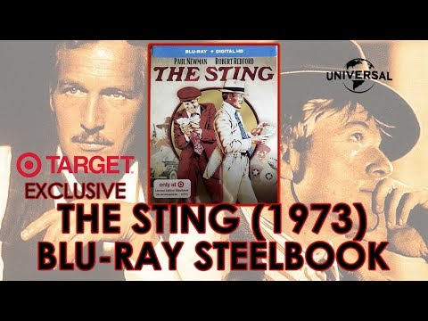 The Sting (1973) Target Exclusive Blu-ray Steelbook Unboxing | Paul Newman | Robert Redford