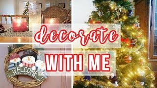 Decorate With Me For Christmas