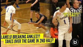 LaMelo Ball BREAKS Defender's ANKLES & Talks TRASH To Crowd!! Wins MVP Of Tournament In STYLE!