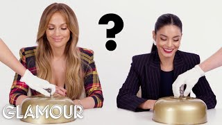 Video Jennifer Lopez and Vanessa Hudgens Make 7 Decisions | Glamour MP3, 3GP, MP4, WEBM, AVI, FLV Januari 2019