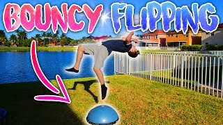 FLIPPING SESH OFF EXERCISE BALL & MINI TRAMP!Make sure to subscribe for more awesome videos!Having fun flipping session flipping off my yoga ball and mini trampoline! We did all kinds of flips and fun stuff! Did you know i could juggle?!Please LIKE & SUBSCRIBE!My Social MediaInstagram: https://www.instagram.com/nicktweston/Twitter: https://twitter.com/nicktwestonSnapChat: nicktwestonNick Weston