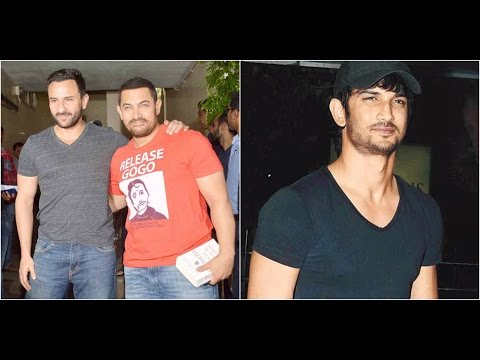 Saif Praises Aamir For 'Dangal'  Sushant Would Be