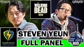 SILICON VALLEY COMIC CON 2017! STEVEN YEUN THE WALKING DEAD INTERVIEW FULL PANEL SVCC 17