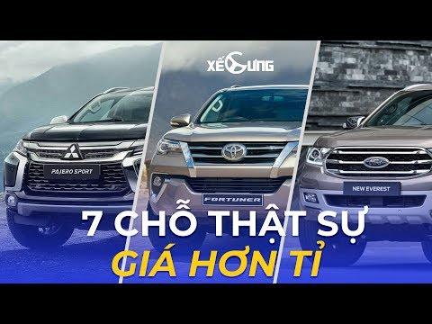 Tư vấn và lựa chọn mua SUV 7 chỗ Toyota Fortuner - Ford Everest và Pajero Sport @ vcloz.com