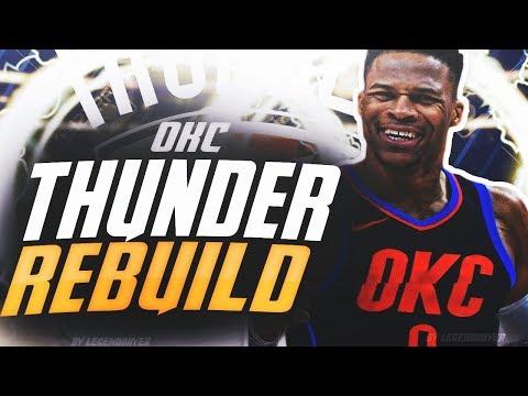 WINNING MULTIPLE CHAMPIONSHIPS?! REBUILDING THE OKC THUNDER! NBA 2K19