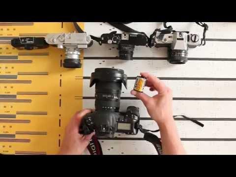Comment choisir un appareil photo 1/3 le format 24x36