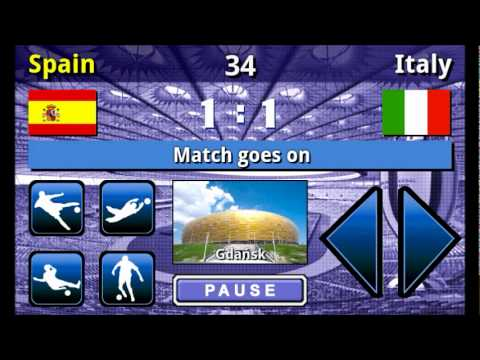 Video of EURO 2012 Football/Soccer Game