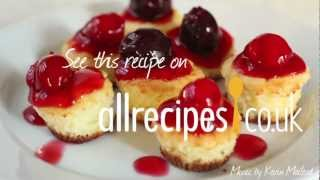 Moreish mini cheesecakes
