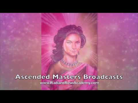Ascended Masters Broadcasts:Vol 89. Goddess of Harmony. October 15, 2021