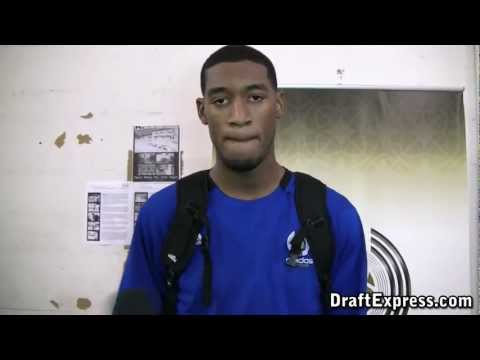 Perry Jones DraftExpress 2011 adidas Nations Interview & Practice Footage
