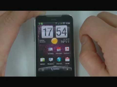 HTC Legend - wideotest cz.1