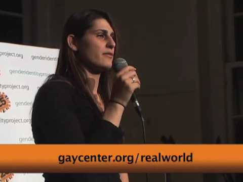 MTV Real World Brooklyn's Katelynn at Gender Identity Project Web Launch Party