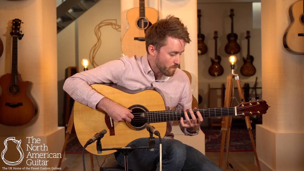 Somogyi Studio Model 'Rapunzel' Acoustic Guitar Played By Will McNicol (Part One)