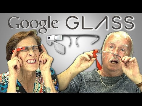 ELDERS REACT TO GOOGLE GLASS