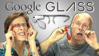 ELDERS REACT TO GOOGLE GLASS