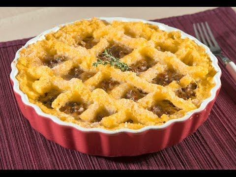 crostata di polenta - ricetta