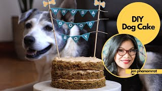 Treat Your Pup to a DIY Dog Cake & Photo by Tastemade