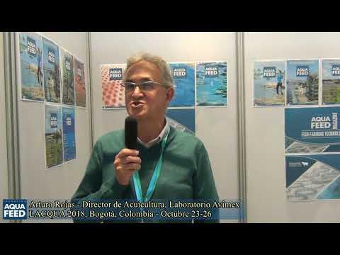Arturo Rojas   Director de Acuicultura, Laboratorio Avimex