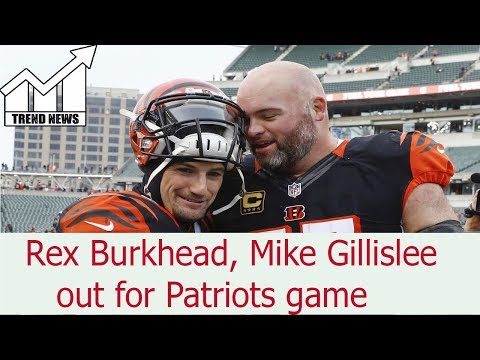 Rex Burkhead, Mike Gillislee reportedly out for Patriots-Titans game