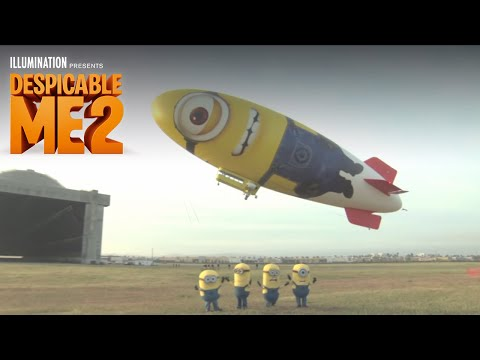 Despicable Me 2 – Despicablimp Time Lapse and Launch – Illumination