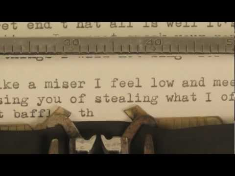 Josh Ritter - New Lover - official lyrics video