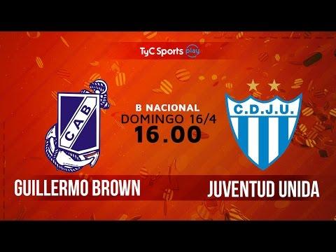 Primera B Nacional: Guillermo Brown (M) vs. Juventud Unida (ER) | #BNacionalenTyC