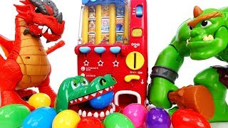 Video Giant Ogre Broke The Vending Machine~! Monsters & Surprise Eggs - ToyMart TV MP3, 3GP, MP4, WEBM, AVI, FLV Desember 2017
