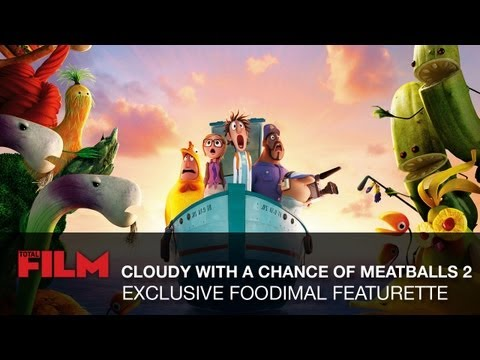 Cloudy with a Chance of Meatballs 2 Featurette 'Foodimal'