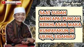 Video Subhanallah ! inilah Ilmu ikhlas yang sesungguhnya || Buya Syakur Yasin Ma MP3, 3GP, MP4, WEBM, AVI, FLV November 2018
