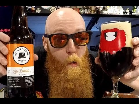 [Beer Review #805] Refined Fool The Brouhaha Nut Brown