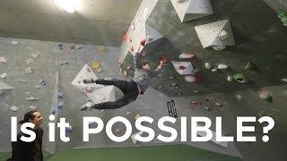 HARDEST Dyno Jake has ever set! by Bouldering Bobat