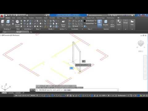 how to add a point to a poly line autocad