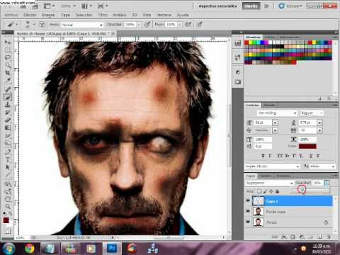 Efecto Zombi con Photoshop CS5