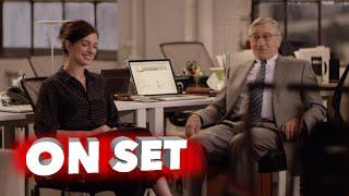 Nonton The Intern  Behind The Scenes Movie Broll   Robert De Niro  Anne Hathaway Film Subtitle Indonesia Streaming Movie Download
