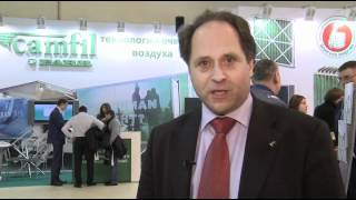 Lars Erik Stolh (Camfil Farr) Interview, Climate World 2012, Moscow.