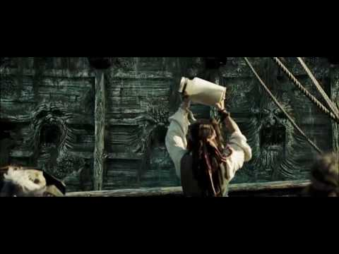 Pirates Of The Caribbean: Dead Man's Chest Hindi : Devi jhons and jack sparrow Funny Scenes    (11)