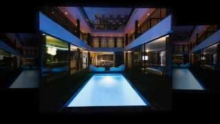 Дизайн дома Green Greenberg от студии New Theme
