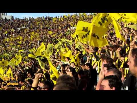 Compilado hinchada Peñarol Clásico 5-0 | Clausura 2014 - Barra Amsterdam - Peñarol