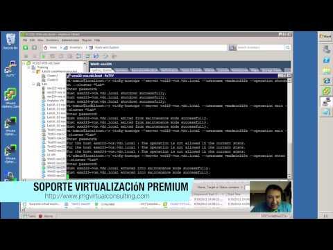 ¿Cómo apagar tu granja VMware vSphere con el comando vicfg-hostops?