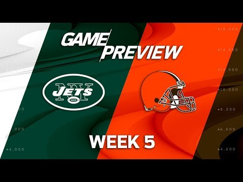 Video: New York Jets vs. Cleveland Browns | Week 5 Game Preview | NFL