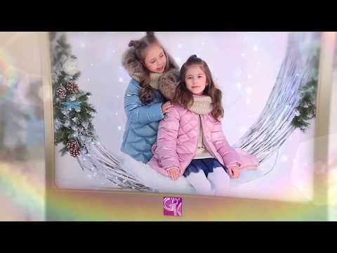 Детская зимняя одежда от GnK. Презентация новой коллекции Зима 18/19 видео