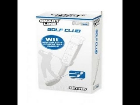 Koru's Product Reviews: Smartline Golf Club Controller Accessory – Made by NiTHO (Wii)
