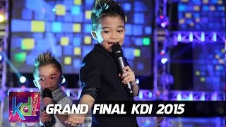 Affan - Haikal - Jojo dan Rian Idol Junior