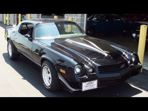 1980 Chevrolet Camaro Z28 19,xxx Original Miles 350 V8 - Start up and Walkaround