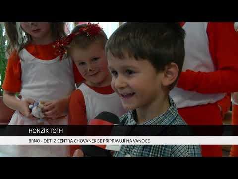 TV Brno 1: 15.12.2017 Děti z centra Chovánek se připravují na vánoce