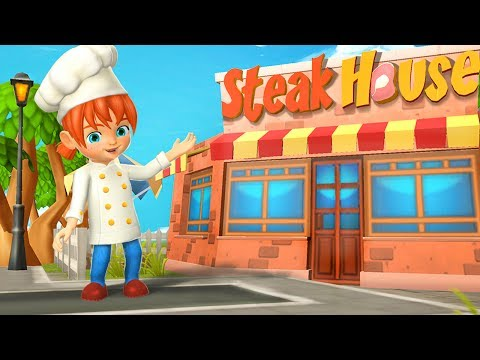 Crazy Cooking Steak Maker 3D - Android Gameplay HD