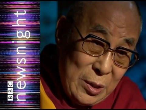 Dalai Lama: British government needs Chinese money – Newsnight