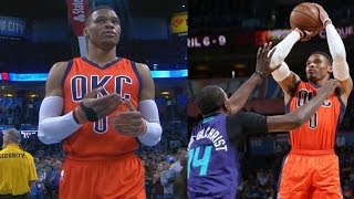 Russell Westbrook 40th Triple Double of Season! 1 Off Big O!