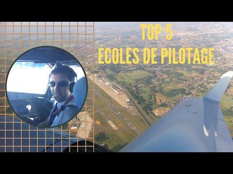 Top 5 mondial des PLUS GRANDES ÉCOLES DE PILOTE DE LIGNE