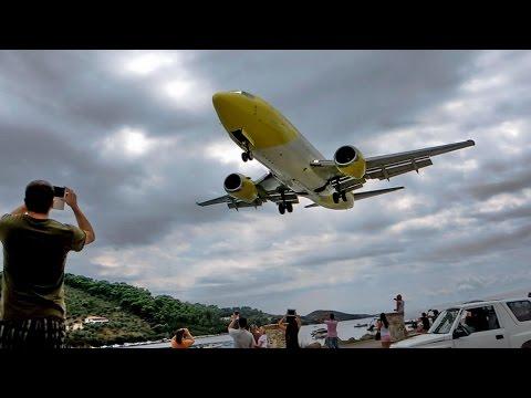 Skiathos Airport Landings 2014